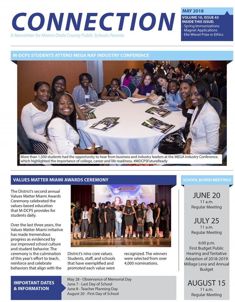 MDCPS Connection Newsletter