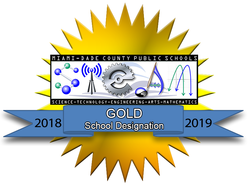 steam - gold 2018-2019 school designation
